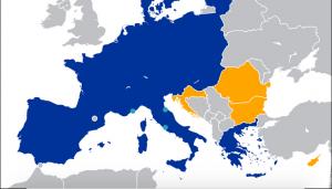 Map of VISA territory